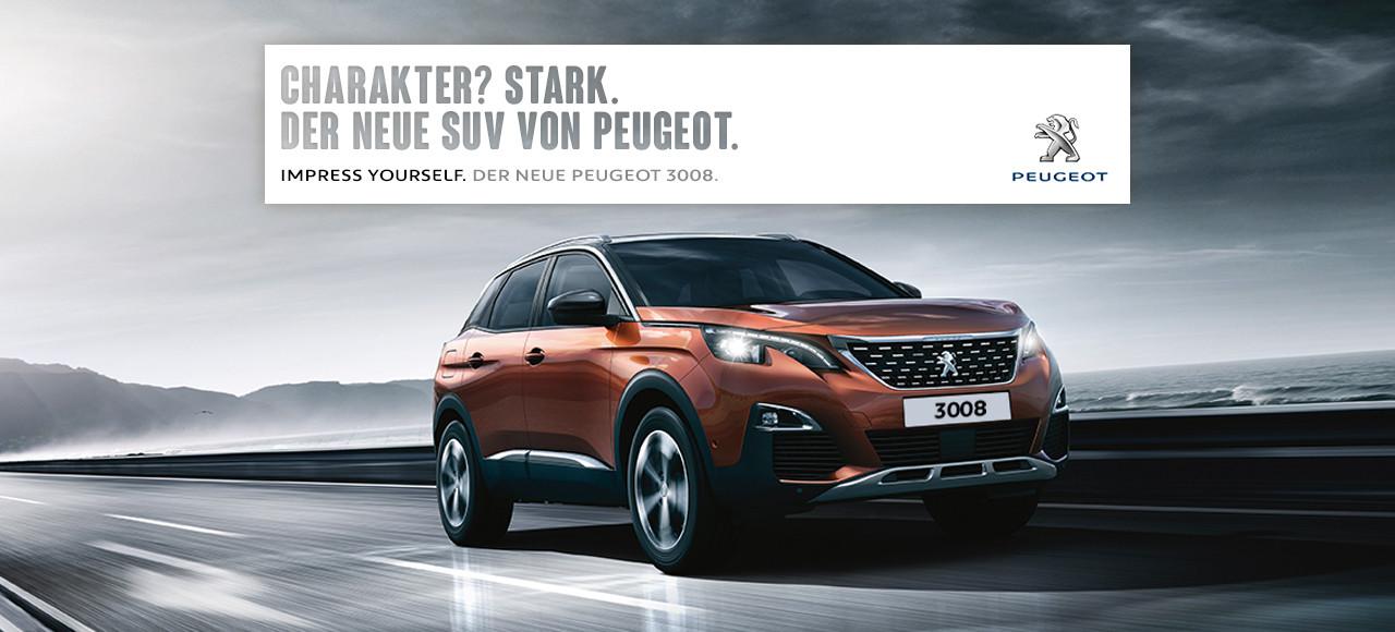 Den neuen Peugeot 3008 SUV mit dem kostenlosen Cardboard erleben (Bildquelle: Peugeot.de)