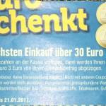 Edeka Coupon über 3€ ab 30€ Einkaufswert (zum Ausdrucken)