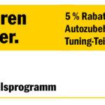 Autoteile-Meile Rabattcoupon im Wert von 5% auf Autoteile für ADAC Mitglieder!