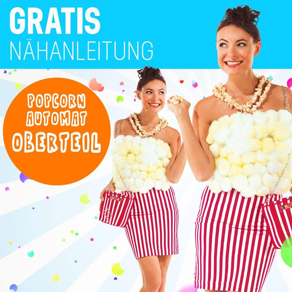 Kostüme von Buttinette für den Fasching - vielleicht dieses Jahr mal als Popcornautomat?