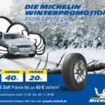 Tirendo Winterpromotion zusammen mit Michelin – sichere dir 40€ Prämie!