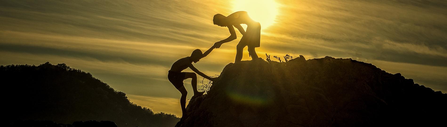 Hilfe annehmen, Ziele erreichen
