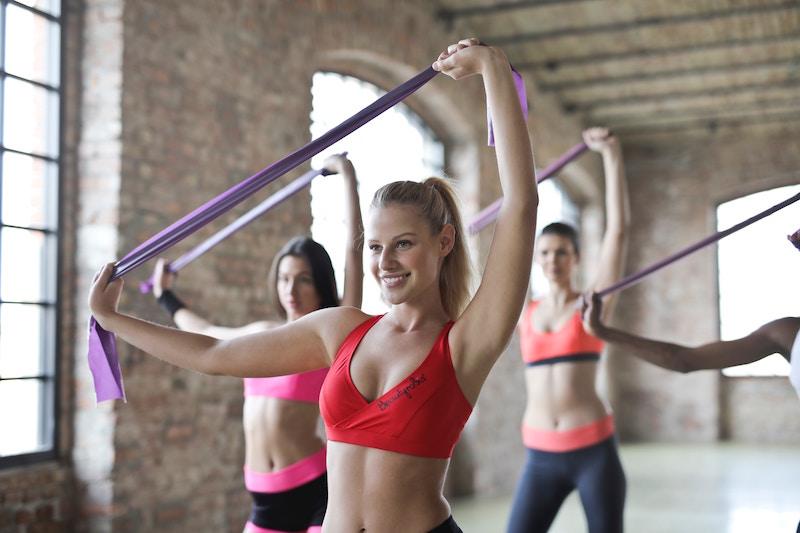 Fitness im Studio