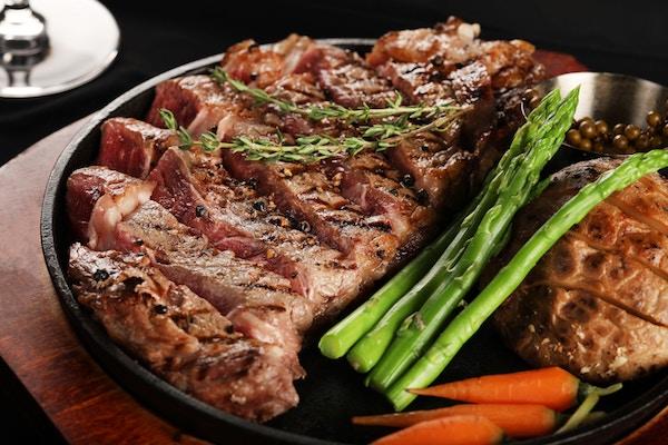 Ein Hauptgericht mit Fleisch | Rabattcoupons