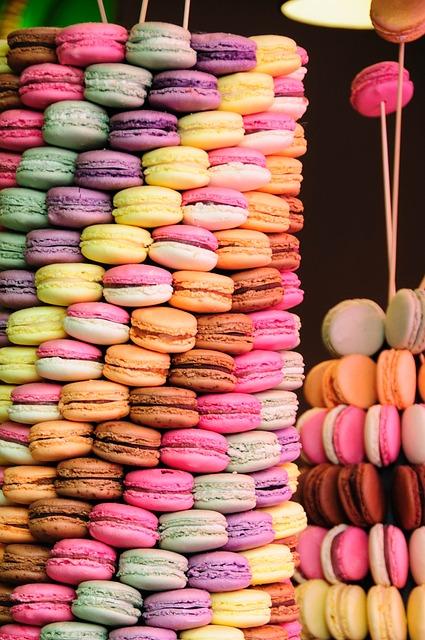 Turm aus Macarons | Rabattecoupons