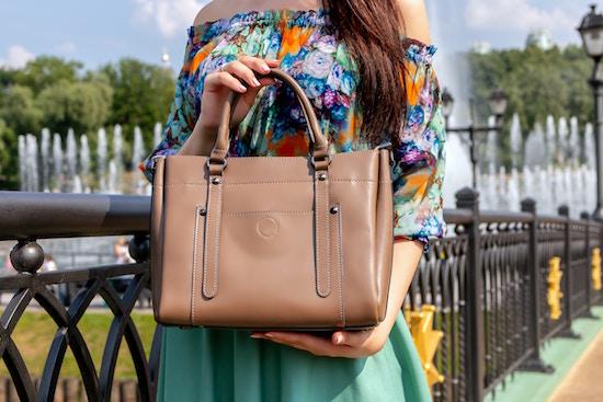 Eine hübsche Handtasche |