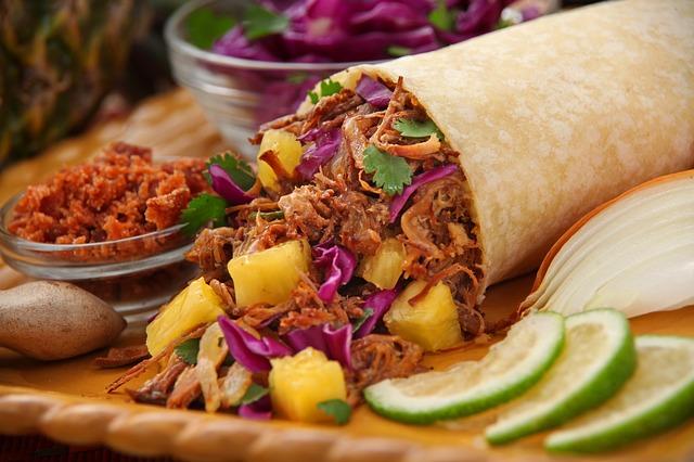 Ein gefüllter Burrito | Rabatte Coupons