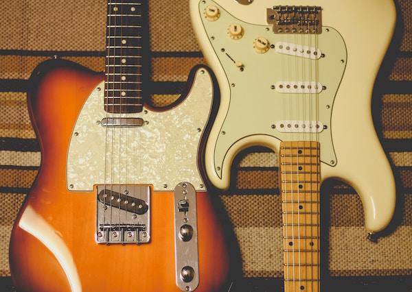 Zwei E-Gitarren | Rabatte Coupons