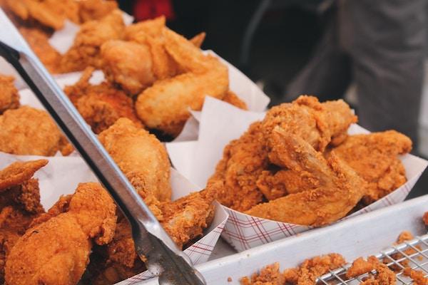 Frittierte Hähnchenteile | Rabatte Coupons