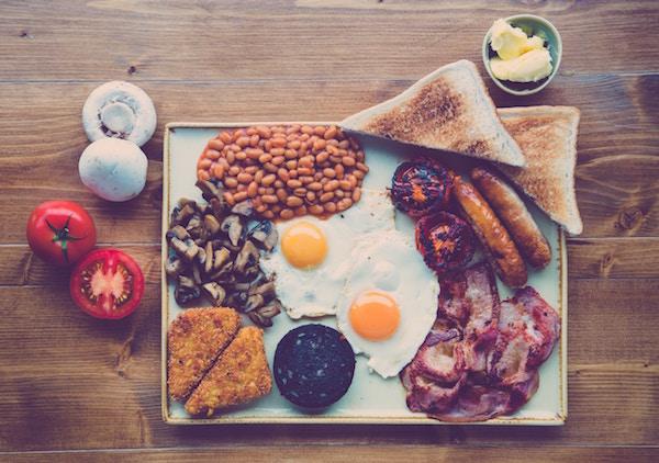 Ein leckeres britisches Frühstück | Rabatt Coupons