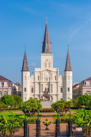 Die St. Louis Cathedral im French Quarter | Rabatte Coupons