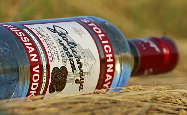 Eine Flasche Wodka | Rabatte Coupons