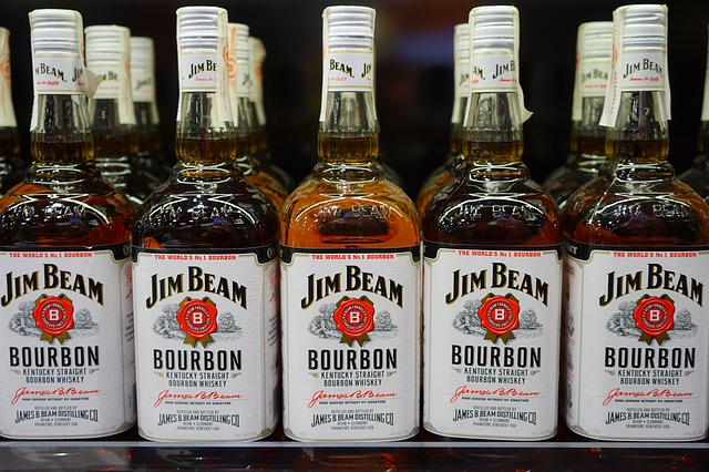 Mehrere Flaschen Jim Beam   Rabattcoupons