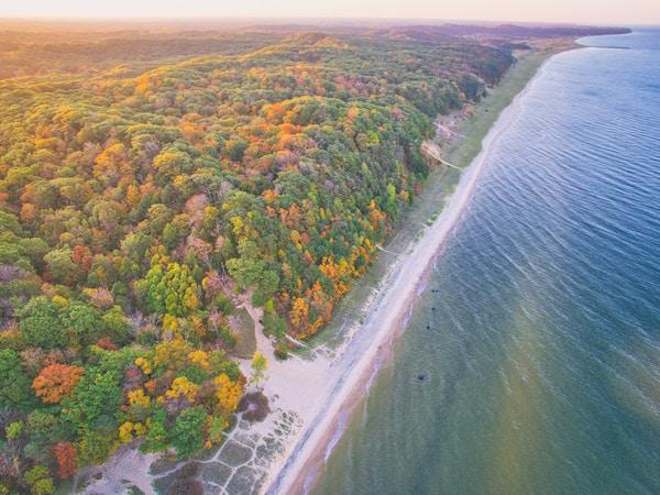 Die Schönheit des Lake Michigan   Rabatte Coupons