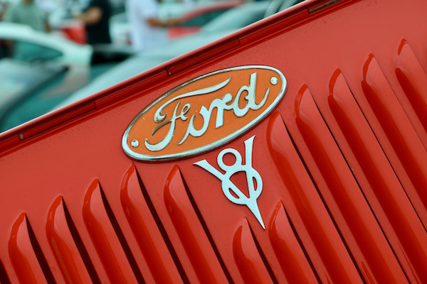 Fords Logo in der Nahaufnahme | Rabatte Coupons