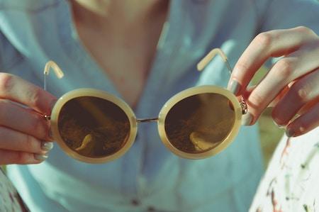 Sonnenbrille im Retro-Look | rabatte coupons