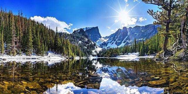 Eine Naturlandschaft in Colorado   Rabatte Coupons