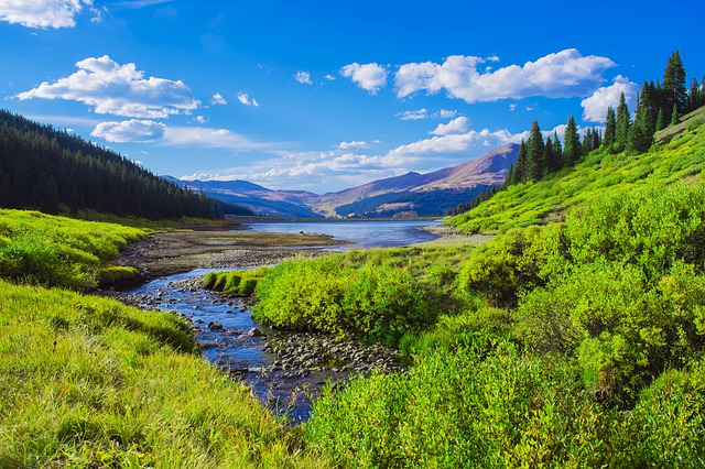 Ein Bergsee in Colorado | Rabatte Coupons