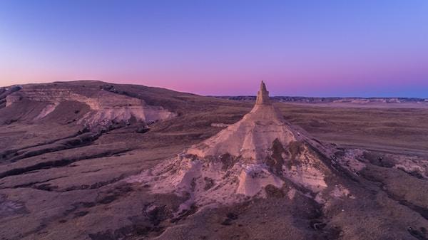 Eine lange und weite Landschaft in Nebraska   Rabattcoupons