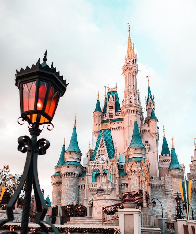 Das Disneyschloss im Disneyland