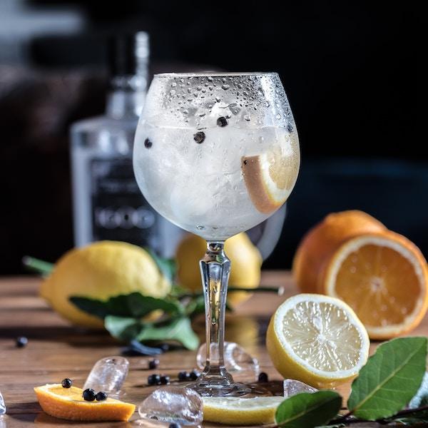 Leckerer Gin im Glas | rabatte coupons