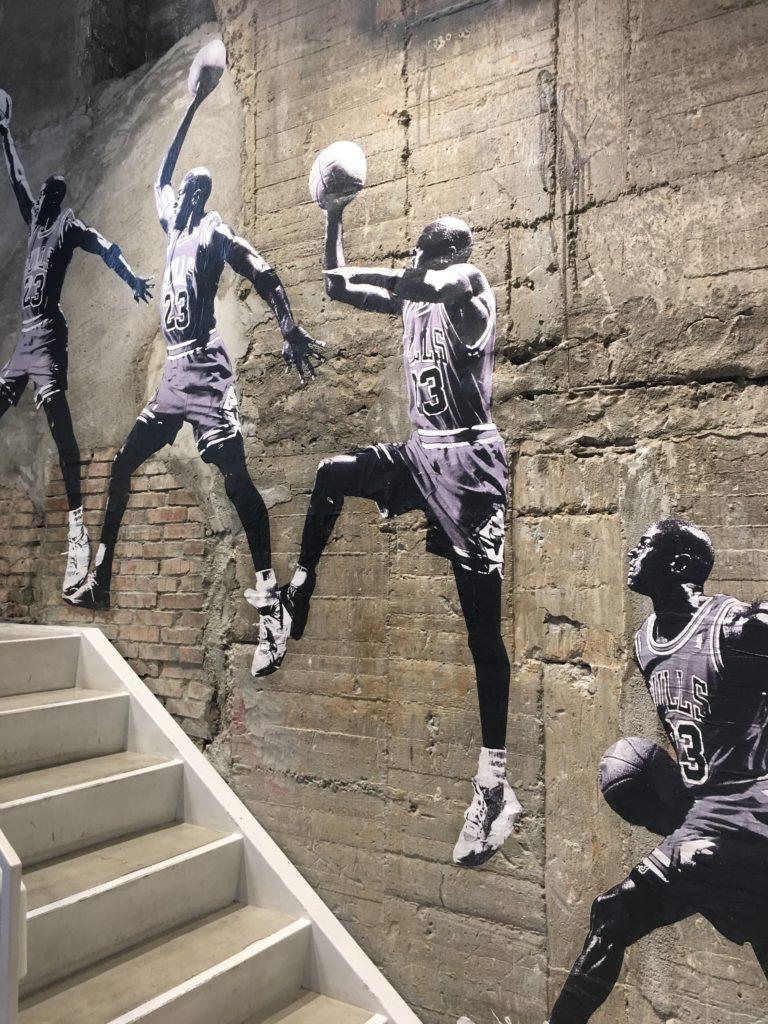 Michael Jordan als Graffiti | www.rabatt-coupon.com