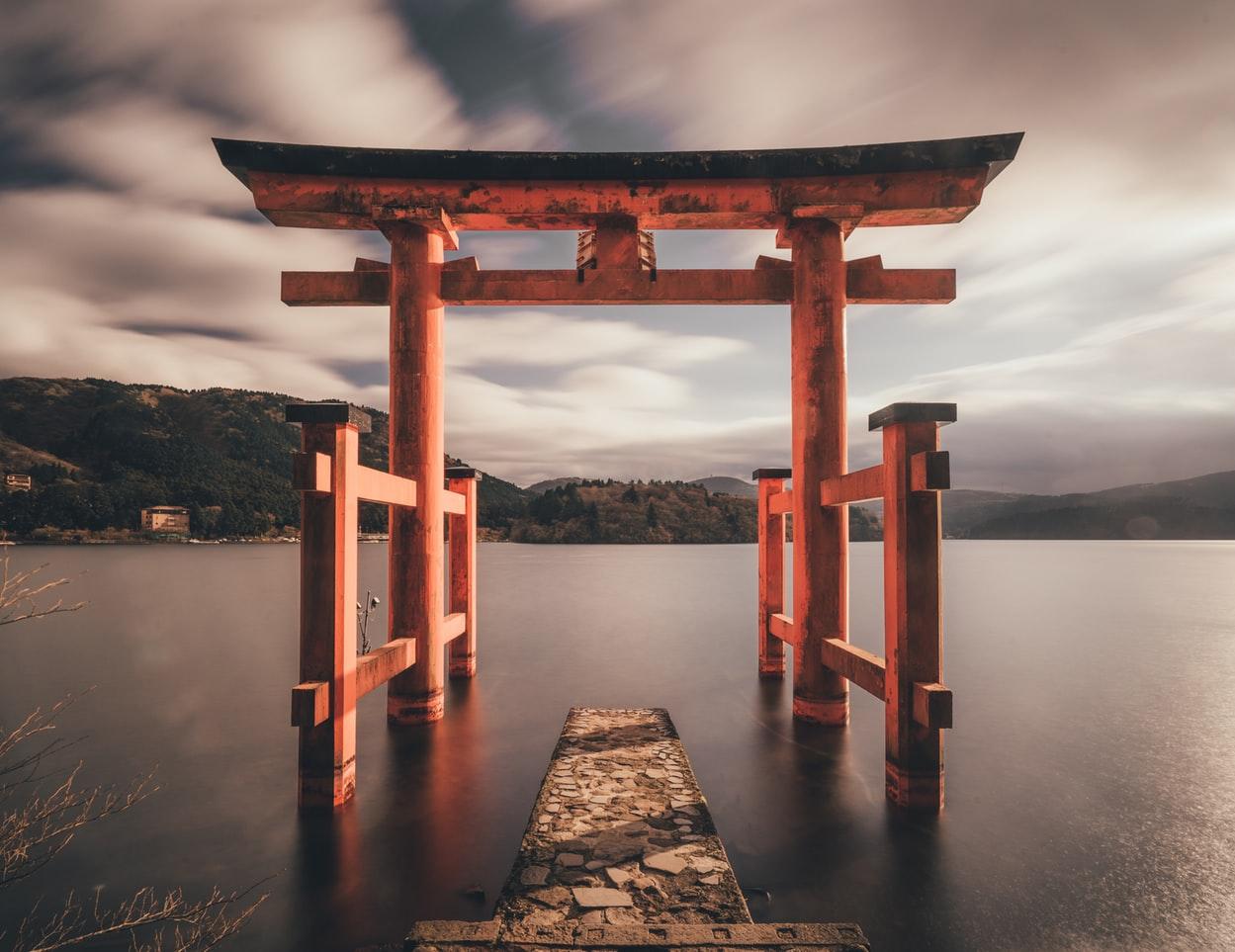 japansicher Tor Bogen