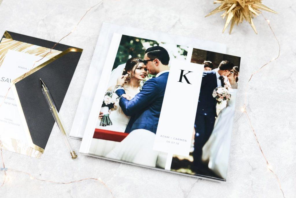 Eine schöne Hochzeitskarte