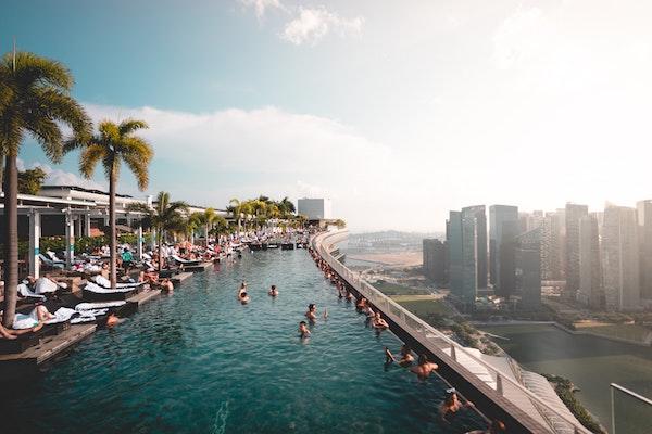 Skypool in Singapur - Secret Escapes Gutschein