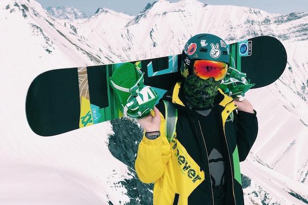 Snowboard mit Bluetomato Gutschein