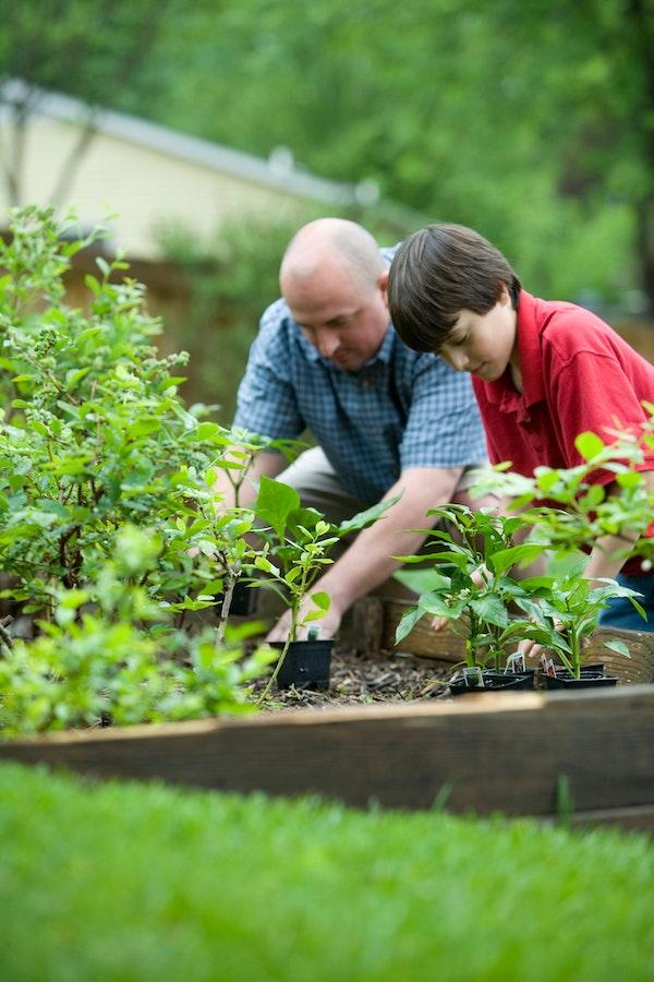 Garten mit Kindern | www.rabatt-coupon