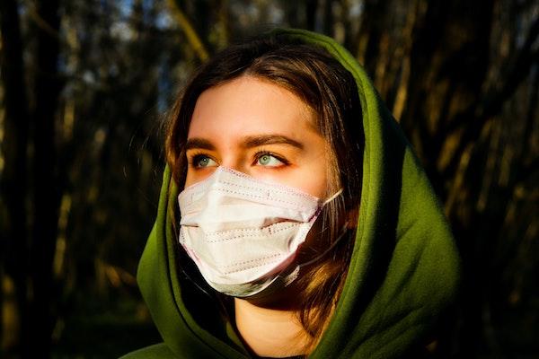 DIY Maske mit Pixartpainting Gutschein