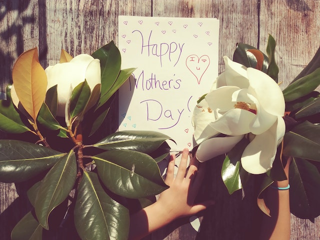 """""""Happy Mothers Day""""-Aufschrift 