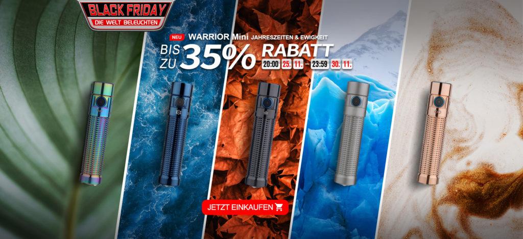 Black Friday Deals 2020 | olightstore.de | www.rabatt-coupon.com